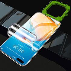 Huawei P40用高光沢 液晶保護フィルム フルカバレッジ画面 F01 ファーウェイ クリア