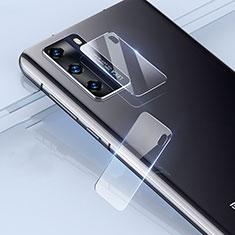 Huawei P40用強化ガラス カメラプロテクター カメラレンズ 保護ガラスフイルム ファーウェイ クリア