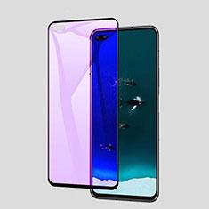 Huawei P40用強化ガラス フル液晶保護フィルム アンチグレア ブルーライト ファーウェイ ブラック