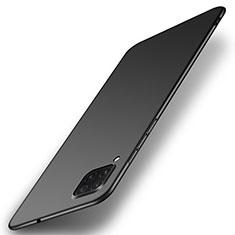 Huawei P40 Lite用ハードケース プラスチック 質感もマット カバー P01 ファーウェイ ブラック