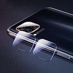 Huawei P40 Lite用強化ガラス カメラプロテクター カメラレンズ 保護ガラスフイルム ファーウェイ クリア