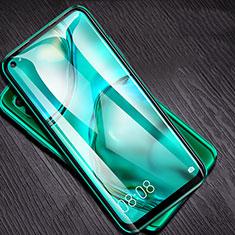 Huawei P40 Lite用強化ガラス フル液晶保護フィルム F05 ファーウェイ ブラック