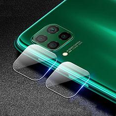 Huawei P40 Lite用強化ガラス カメラプロテクター カメラレンズ 保護ガラスフイルム C03 ファーウェイ クリア