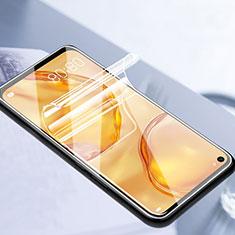 Huawei P40 Lite用高光沢 液晶保護フィルム フルカバレッジ画面 F06 ファーウェイ クリア