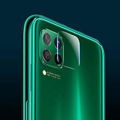 Huawei P40 Lite用強化ガラス カメラプロテクター カメラレンズ 保護ガラスフイルム C02 ファーウェイ クリア