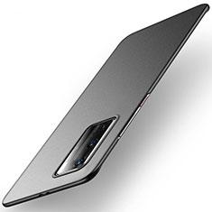 Huawei P40 Pro用ハードケース プラスチック 質感もマット カバー M01 ファーウェイ ブラック