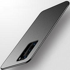 Huawei P40 Pro用極薄ソフトケース シリコンケース 耐衝撃 全面保護 S01 ファーウェイ ブラック