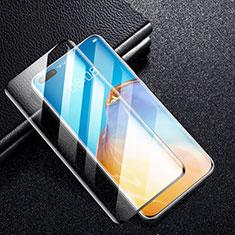 Huawei P40 Pro用強化ガラス フル液晶保護フィルム F05 ファーウェイ ブラック