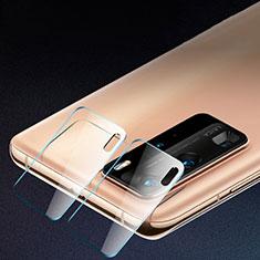 Huawei P40 Pro用強化ガラス カメラプロテクター カメラレンズ 保護ガラスフイルム C01 ファーウェイ クリア