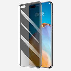Huawei P40 Pro用反スパイ 強化ガラス 液晶保護フィルム M01 ファーウェイ クリア