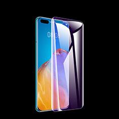 Huawei P40 Pro用アンチグレア ブルーライト 強化ガラス 液晶保護フィルム B01 ファーウェイ クリア