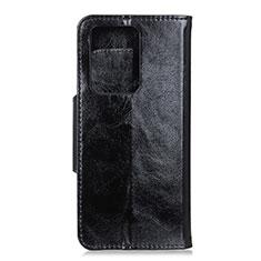 Huawei P40 Pro+ Plus用手帳型 レザーケース スタンド カバー T05 ファーウェイ ブラック