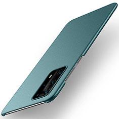 Huawei P40 Pro+ Plus用ハードケース プラスチック 質感もマット カバー M01 ファーウェイ グリーン