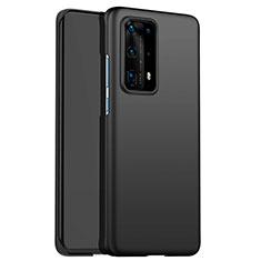 Huawei P40 Pro+ Plus用ハードケース プラスチック 質感もマット ファーウェイ ブラック