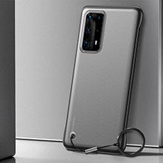 Huawei P40 Pro+ Plus用ハードカバー クリスタル クリア透明 H01 ファーウェイ ブラック