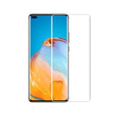Huawei P40 Pro+ Plus用強化ガラス 液晶保護フィルム T01 ファーウェイ クリア