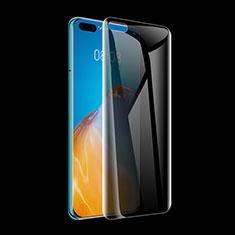 Huawei P40 Pro+ Plus用反スパイ 強化ガラス 液晶保護フィルム M01 ファーウェイ クリア