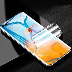 Huawei P40 Pro+ Plus用高光沢 液晶保護フィルム フルカバレッジ画面 F02 ファーウェイ クリア