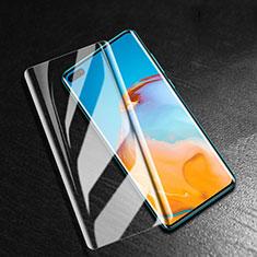 Huawei P40 Pro+ Plus用強化ガラス 液晶保護フィルム T04 ファーウェイ クリア