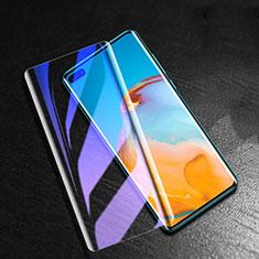 Huawei P40 Pro+ Plus用アンチグレア ブルーライト 強化ガラス 液晶保護フィルム B01 ファーウェイ クリア