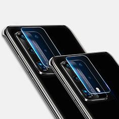 Huawei P40 Pro+ Plus用強化ガラス カメラプロテクター カメラレンズ 保護ガラスフイルム ファーウェイ クリア