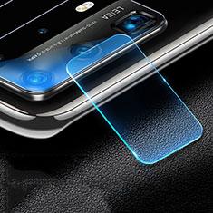 Huawei P40 Pro+ Plus用強化ガラス カメラプロテクター カメラレンズ 保護ガラスフイルム C01 ファーウェイ クリア