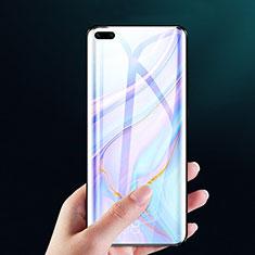 Huawei P40 Pro+ Plus用強化ガラス フル液晶保護フィルム F02 ファーウェイ ブラック