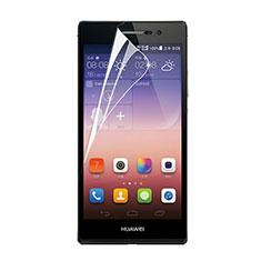 Huawei P7 Dual SIM用高光沢 液晶保護フィルム ファーウェイ クリア