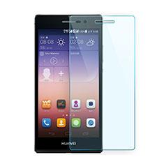 Huawei P7 Dual SIM用強化ガラス 液晶保護フィルム ファーウェイ クリア