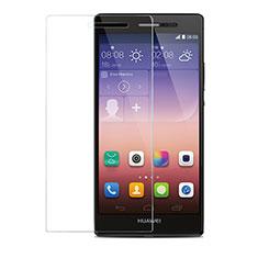 Huawei P7 Dual SIM用強化ガラス 液晶保護フィルム T04 ファーウェイ クリア