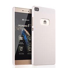 Huawei P8用ハードケース プラスチック 質感もマット ファーウェイ ホワイト