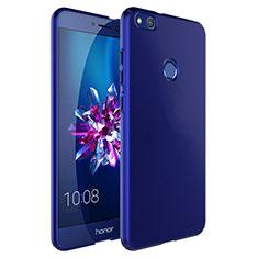 Huawei P8 Lite (2017)用ハードケース プラスチック 質感もマット アンド指輪 ファーウェイ ネイビー