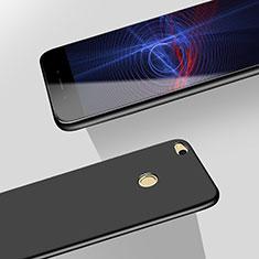 Huawei P8 Lite (2017)用ハードケース プラスチック 質感もマット M06 ファーウェイ ブラック