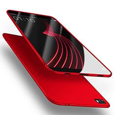 Huawei P8 Lite用ハードケース プラスチック 質感もマット M02 ファーウェイ レッド