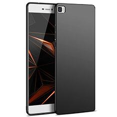 Huawei P8 Lite用ハードケース プラスチック 質感もマット M03 ファーウェイ ブラック