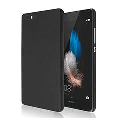Huawei P8 Lite用ハードケース プラスチック 質感もマット ファーウェイ ブラック
