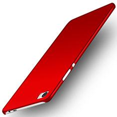 Huawei P8 Max用ハードケース プラスチック 質感もマット M02 ファーウェイ レッド