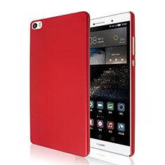 Huawei P8 Max用ハードケース プラスチック 質感もマット ファーウェイ レッド