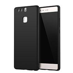 Huawei P9 Plus用極薄ソフトケース シリコンケース 耐衝撃 全面保護 S01 ファーウェイ ブラック