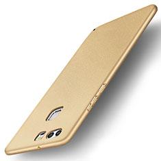 Huawei P9 Plus用ハードケース プラスチック 質感もマット M04 ファーウェイ ゴールド