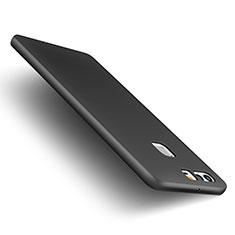 Huawei P9 Plus用ハードケース プラスチック 質感もマット M01 ファーウェイ ブラック