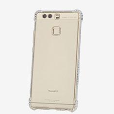 Huawei P9 Plus用極薄ソフトケース シリコンケース 耐衝撃 全面保護 クリア透明 T06 ファーウェイ クリア