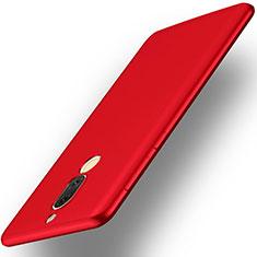 Huawei Rhone用ハードケース プラスチック 質感もマット ファーウェイ レッド