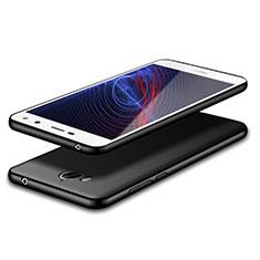 Huawei Y5 (2017)用極薄ソフトケース シリコンケース 耐衝撃 全面保護 S02 ファーウェイ ブラック