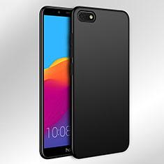 Huawei Y5 (2018)用ハードケース プラスチック 質感もマット ファーウェイ ブラック