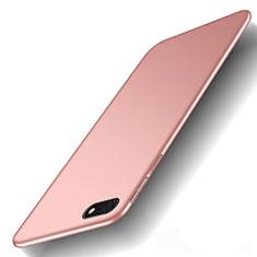 Huawei Y5 (2018)用ハードケース プラスチック 質感もマット M01 ファーウェイ ローズゴールド