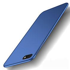 Huawei Y5 (2018)用ハードケース プラスチック 質感もマット M01 ファーウェイ ネイビー