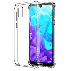 Huawei Y5 (2019)用極薄ソフトケース シリコンケース 耐衝撃 全面保護 クリア透明 カバー ファーウェイ クリア
