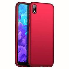 Huawei Y5 (2019)用ハードケース プラスチック 質感もマット M01 ファーウェイ レッド