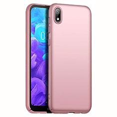 Huawei Y5 (2019)用ハードケース プラスチック 質感もマット M01 ファーウェイ ローズゴールド